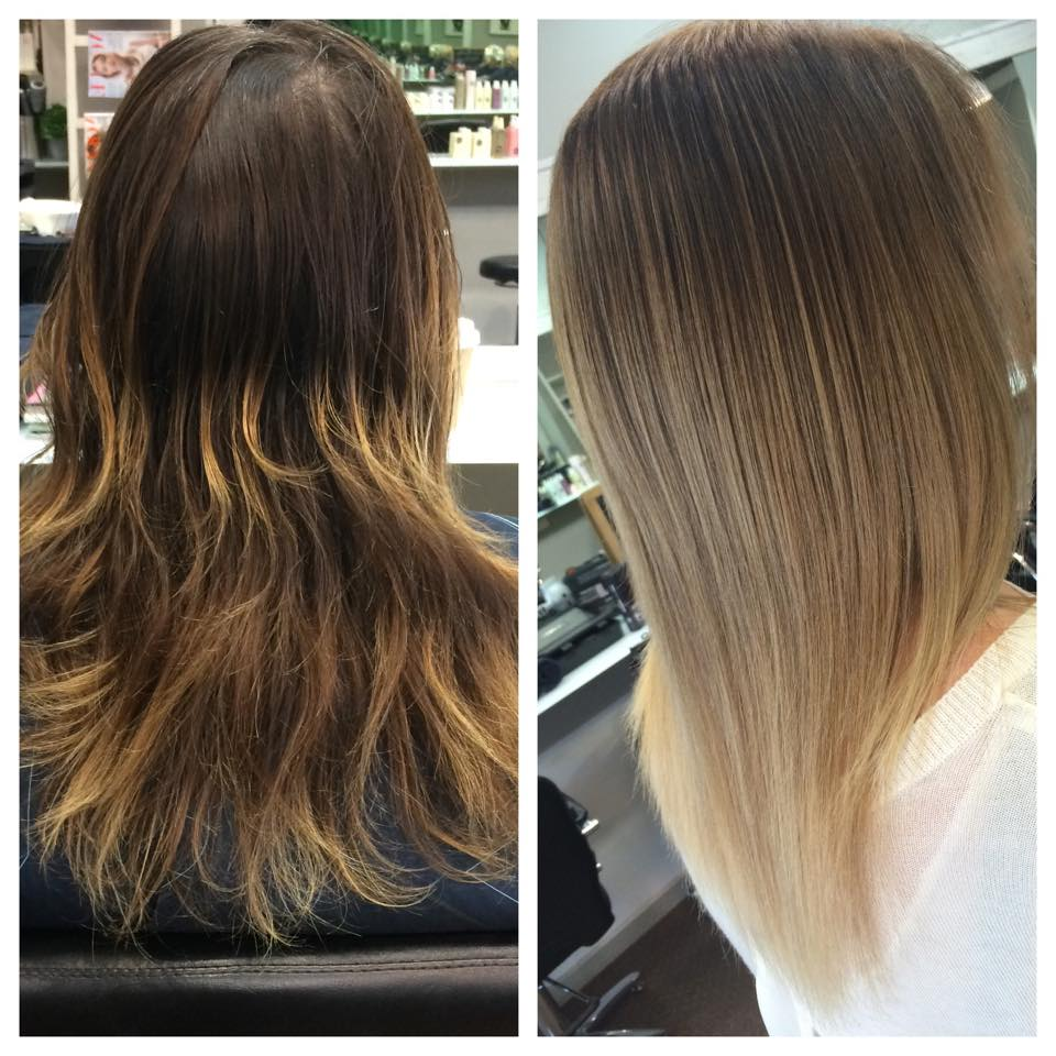how to create ombre hair