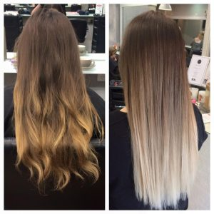 blonde ombre by sarah a